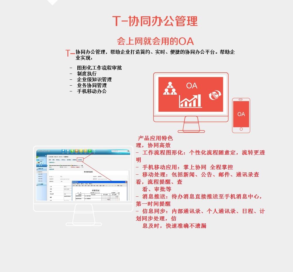 > 軟件產品 > T6產品線